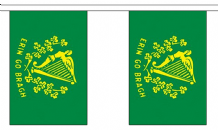 ERIN GO BRAGH BUNTING - 9 METRES 30 FLAGS
